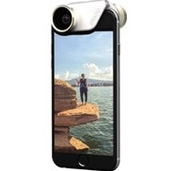 olloclip Kameraobjectiv 4in1 iPhone 6/ 6Plus, Linse gold, weißer Clip