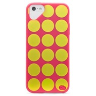Olo Cloud für iPhone 5, Polka Dot Pink