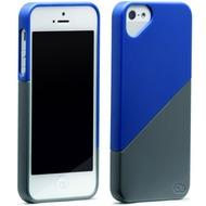 Olo Duet für iPhone 5, blau-grau