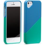 Olo Duet für iPhone 5, blau-grün