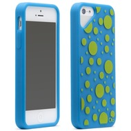 Olo Fashion Dot für iPhone 5, blau-grün