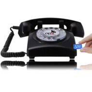 Opis 60s mobile, schwarz mit Telekom MagentaMobil S Vertrag