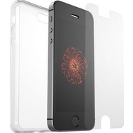 OtterBox Clearly Protected, 100% Clear Skin mit Alpha Glass für Apple iPhone 5/ 5s/ SE