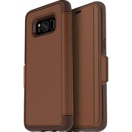 OtterBox Strada Lombardi, für Galaxy S8, burnt saddle