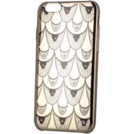 OXO Backcover Bling Necklace für iPhone 6, gold