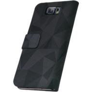 OXO Bookcase Urban Black für Samsung Galaxy S6, meth grey