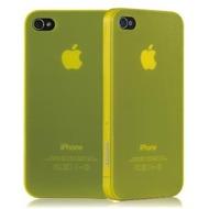 Ozaki iCoat 0.4 f�r iPhone 4 /  4S, gelb