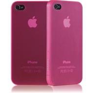 Ozaki iCoat 0.4 f�r iPhone 4 /  4S, pink