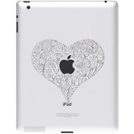 Ozaki iCoat Relief Sticker f�r iPad, Love