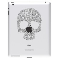 Ozaki iCoat Relief Sticker für iPad, Skull
