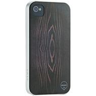 Ozaki iCoat Wood Willpower f�r iPhone 4 /  4S, dunkelbraun