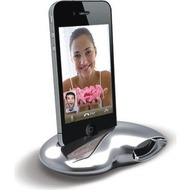 Ozaki iSuppli Nautilus f�r iPhone 4 /  4S, silber