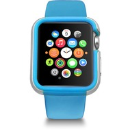 Ozaki O!Coat Shockband Bumper - Apple Watch, Watch Sport, Watch Edition (38mm) - blau
