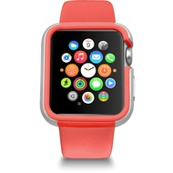 Ozaki O!Coat Shockband Bumper - Apple Watch, Watch Sport, Watch Edition (38mm) - pink
