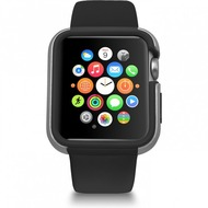 Ozaki O!Coat Shockband Bumper Apple Watch, Watch Sport, Watch Edition (42mm) schwarz OC660BK