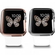 Ozaki O!Coat Wardrobe+ 2 in 1 Set für SIE Apple Watch Sport (38mm) gold & silber OC621B