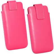 Fontastic OZBO Ledertasche Cora Lift ML - pink - 124x59x8mm