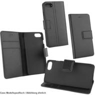 Fontastic OZBO Ledertasche Diary Piel schwarz NFC (RFID) Leseschutz, komp Apple iPhone X