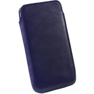 Fontastic OZBO Ledertasche Gubo ML - blau - 124x59x8mm