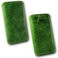 Fontastic OZBO Ledertasche Ovin XL - grün - 137x71x10mm
