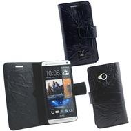 OZBO Ledertasche Piega Diary - schwarz - für HTC One