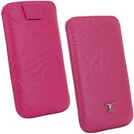 Fontastic OZBO Ledertasche Piega L - pink - 127x67x11mm