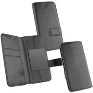 OZBO PU Tasche Diary Business 3XL - schwarz - 153x78x9mm