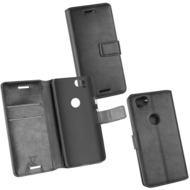 Fontastic OZBO PU Tasche Diary Business schwarz komp. mit Google Pixel 2