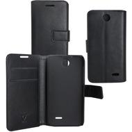 OZBO PU Tasche Diary Business - schwarz - für HTC Desire 310