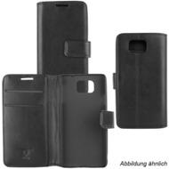 Fontastic OZBO PU Tasche Diary Business schwarz komp. mit HTC U 11