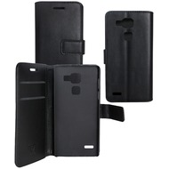 OZBO PU Tasche Diary Business - schwarz - für Huawei Ascend Mate 7