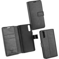 OZBO PU Tasche Diary Business schwarz komp. mit Huawei P20