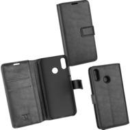 OZBO PU Tasche Diary Business schwarz komp. mit Huawei P20 Lite