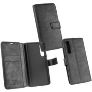 OZBO PU Tasche Diary Business schwarz komp. mit Huawei P30