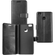 OZBO PU Tasche Diary Business - schwarz - für Huawei P9 Lite