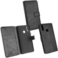 OZBO PU Tasche Diary Business schwarz komp. mit Huawei P Smart (2019)
