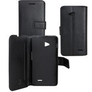 OZBO PU Tasche Diary Business - schwarz - für LG L 65