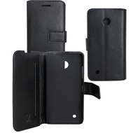 OZBO PU Tasche Diary Business - schwarz - für Nokia Lumia 530