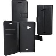 OZBO PU Tasche Diary Business - schwarz - für Nokia Lumia 535