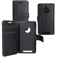 OZBO PU Tasche Diary Business - schwarz - für Nokia Lumia 830