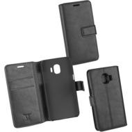 OZBO PU Tasche Diary Business schwarz komp. mit Samsung Galaxy J2 Pro (2018)