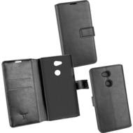 OZBO PU Tasche Diary Business schwarz komp. mit Sony Xperia L2