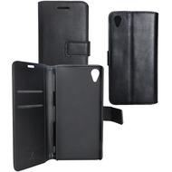 Fontastic OZBO PU Tasche Diary Business - schwarz - für Sony Xperia Z3