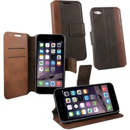 OZBO PU Tasche Diary Calico - braun - für Apple iPhone 6/ 6s