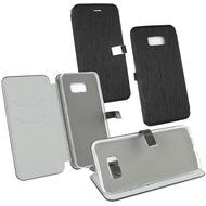 Fontastic OZBO PU Tasche Diary Ela schwarz komp. mit Samsung Galaxy S8 Plus