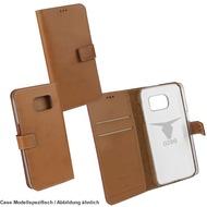 "OZBO PU Tasche ""Diary Leda"" - braun - für Samsung Galaxy S7 Edge"