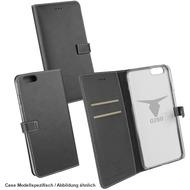 "OZBO PU Tasche ""Diary Leda"" - schwarz - für Apple iPhone 7"