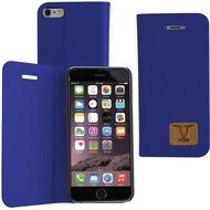 Fontastic OZBO PU Tasche Diary Slim - blau - für Apple iPhone 6/ 6s