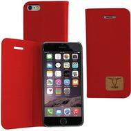Fontastic OZBO PU Tasche Diary Slim - rot - für Apple iPhone 6+/ 6s+