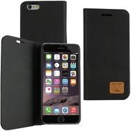 Fontastic OZBO PU Tasche Diary Slim - schwarz - für Apple iPhone 6+/ 6s+